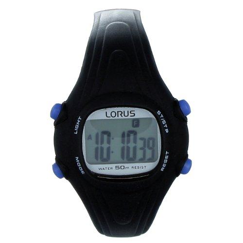 Lorus watches reloj para Unisex Digital de Cuarzo con brazalete de Plástico R2371BX: Amazon.es: Relojes