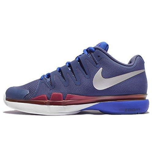 6919207b646e5 Nike Women's Wmns Zoom Vapor 9.5 Tour, DARK PURPLE DST/METLLIC SILVER-RACER  BLUE, 5 US