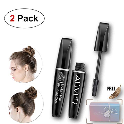 - Hairfeel Finishing Stick (2 Pack x 15 ml), Small Fly Away Hair Tamer Wax, Broken Hair Finishing Cream, Glam hair Styling Gel, Refreshing Shaping Hair Mascara for Women and Kids