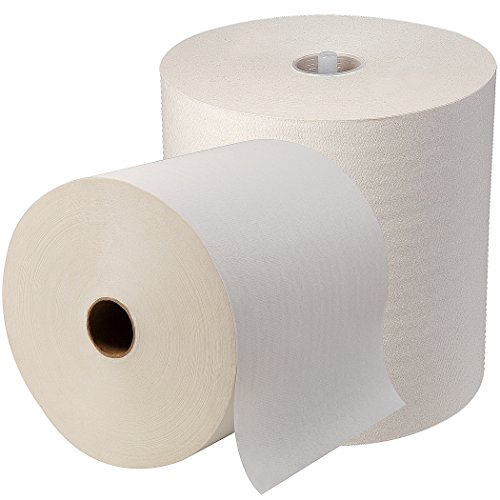 SofPull High-Capacity Recycled Paper Towel Roll by GP PRO (Georgia-Pacific), White, 26470, 1000 Linear Feet Per Roll, 6 Rolls Per Case, Green