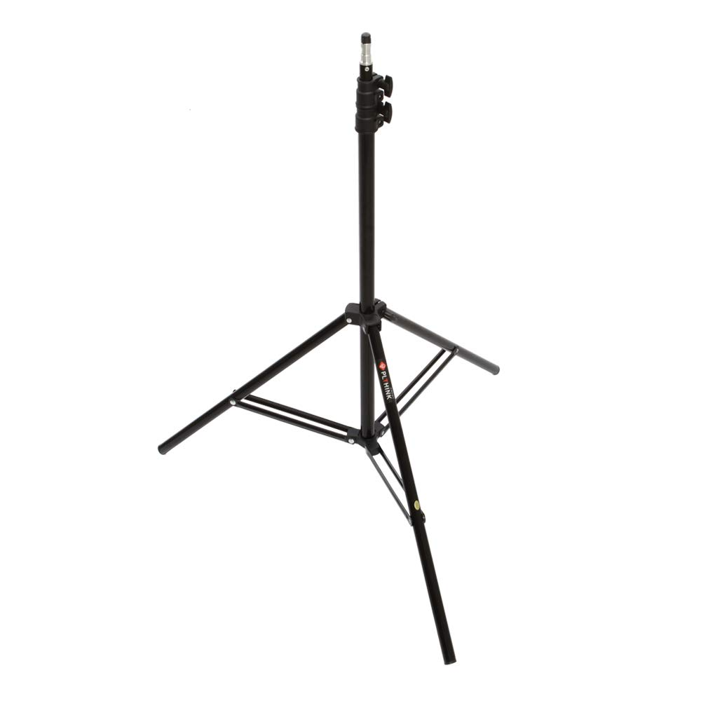 PLTHINK Luxpad 43H 15'' Bi-Color 3200K-5600K LED Lighting and PRO-203 Stand Set for YouTube Creator, Beauty Makeup, Live Streaming, Portrait Shooting, and Various Video Shooting(2 Stand Set) by PLTHINK (Image #3)