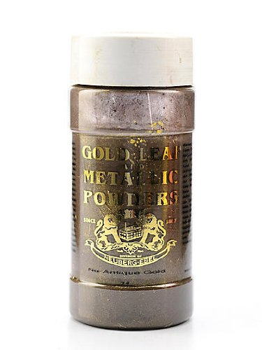 Gold Leaf & Metallic Co. Metallic and Mica Powders nu-antique gold mica 1 oz.