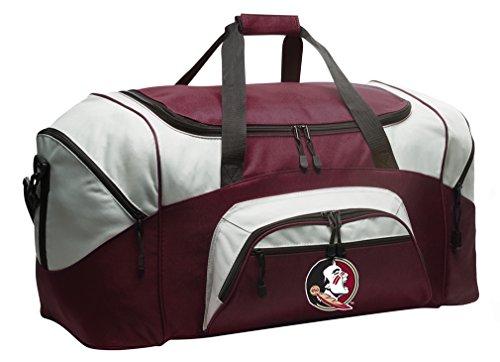 Broad Bay FSU Gym Bag Deluxe Florida State Duffle Bag by Broad Bay