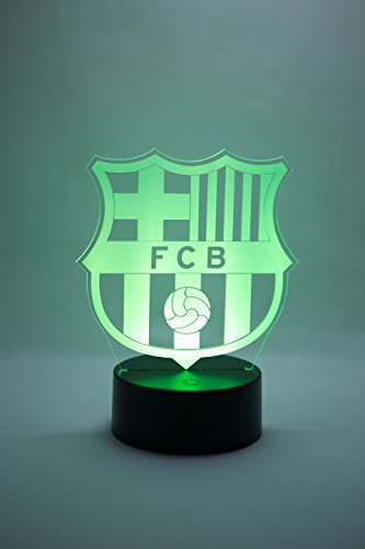 Oficial Escudo del FC Barcelona Lámpara original accesorios de 2017- 2018 y mejor  regalo de Barça para bebe infantil niño kids hombre mujer adulto Mejor ... dac03c6ba10