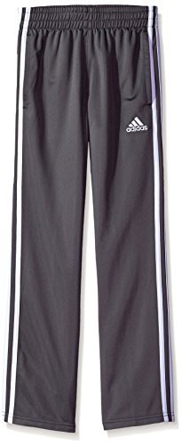 adidas Boys' Big Tricot Pant, Iconic Grey Five, S (8/10)