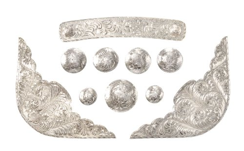 Tough 1 Royal King Silver Saddle Set
