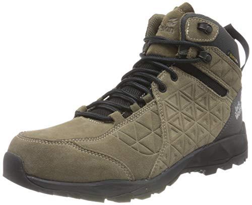 Zapatos de montaña Jack Wolfskin para hombre, Khaki Phantom, 11