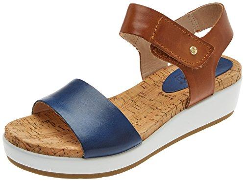 Pikolinos Vrouwen Mykonos W1g Sandaaltjes Blauwe (royal Blue)