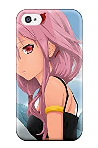 Lmf DIY phone caseFashion Tpu Case For Iphone 4/4s- Guilty Crown Defender Case CoverLmf DIY phone case