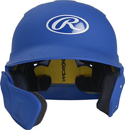 Rawlings MACHEXTL-R7-SR 2019 Mach Baseball Batting Helmet, Matte Royal by Rawlings
