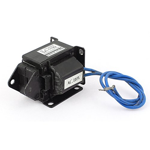 Uxcell a15072700ux0445 Push Pull Type Lifting Magnet Solenoid Electromagnet Actuator, AC 110V, 10 mm, 0.8 kg