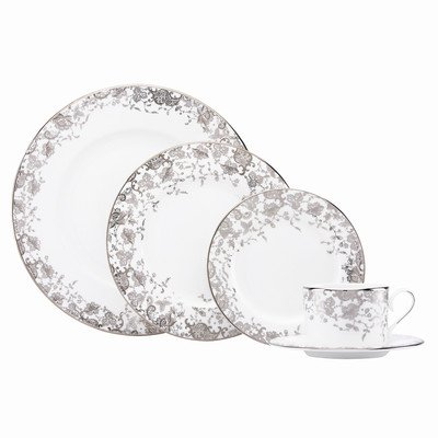 Lenox Marchesa 5-Piece Place Setting, French Lace (French Lace Porcelain)