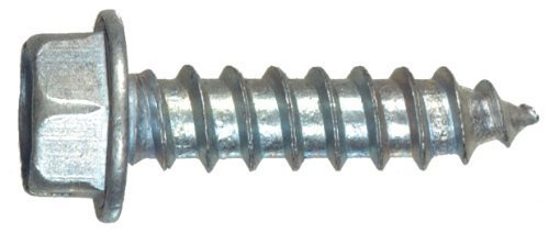 The Hillman Group The Hillman Group 3768 10 x 1-1 4 In. Aluminum Hex Washer Head Sheet Metal Screw by The Hillman Group