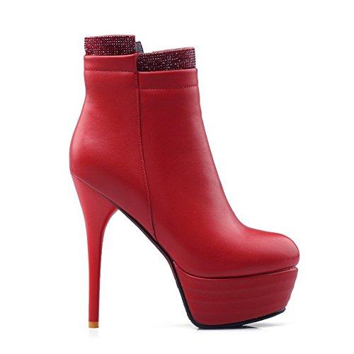 BalaMasa Abl09791, Plateforme femme Red