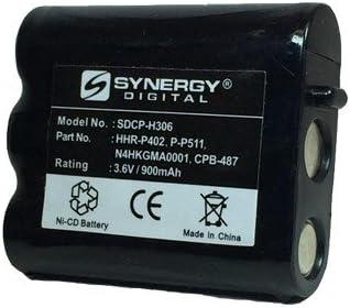 2X Pack Replacement for Panasonic Cordless Phone Battery Panasonic HHR-P402 Battery 1200mAh, 3.6V, NI-MH