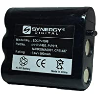 Panasonic KX-TG2730 Cordless Phone Battery Ni-CD, 3.6 Volt, 900 mAh - Ultra Hi-Capacity - Replacement for Panasonic P-P511, Type 24 Rechargeable Battery