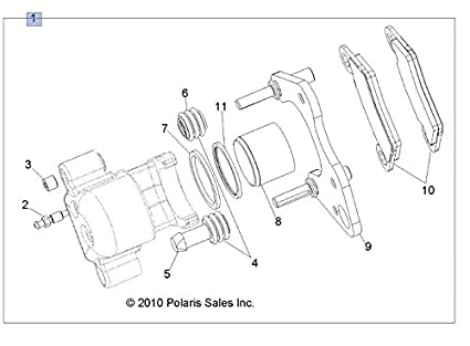 Polaris Sportsman 500 Diagram 2012 Brakes