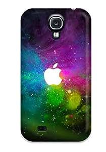 DebAA Galaxy S4 Hybrid Tpu Case Cover Silicon Bumper Cosmic Apples