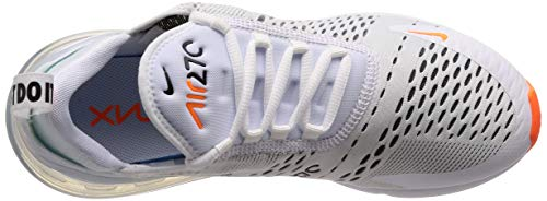 NIKE da Multicolore Air 106 White Orange Scarpe Basse Ginnastica Black 270 Max Total Uomo rFrwqIRC