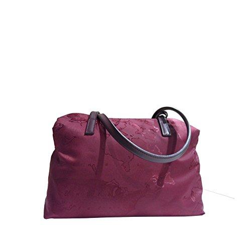 Bag Map Red Classe Nylon Shoulder Alviero 1a Martini xSgwzzF8