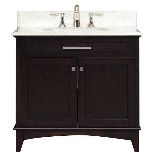 - Water Creation MANHATTAN30 Manhattan Collection 30-Inch (31-Inch with Countertop) Single Sink Bathroom Vanity Set