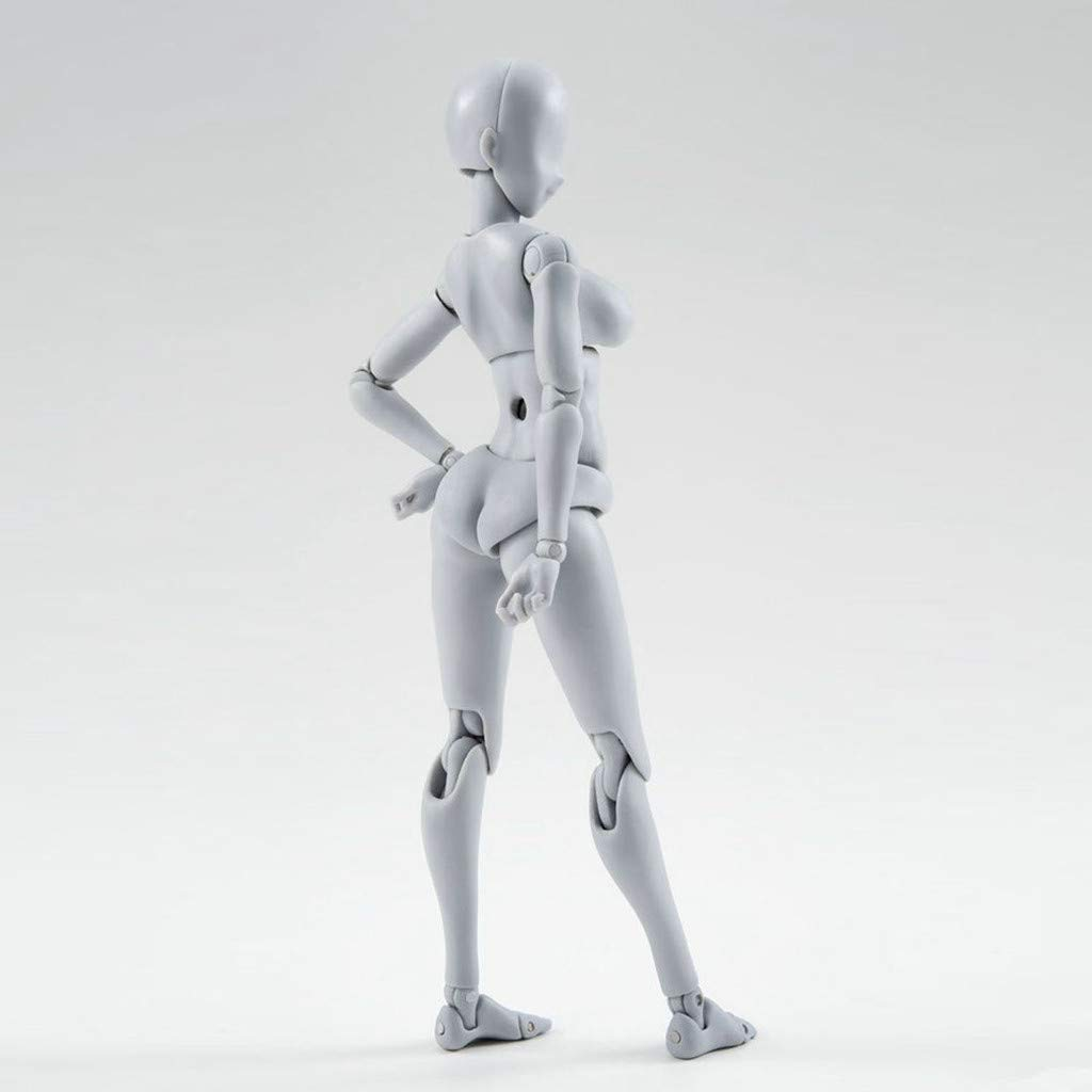 Artists Manikin Blockhead Jointed Mannequin Self-Built Arts Drawing Model Action Figure Model Human Mannequin Man Woman Kits Suitable for Sketching 99HOME Human Figure Models for Artists Painting
