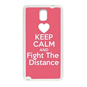 Red simple motto fashion cartoon Cell Phone Case for Samsung Galaxy Note3