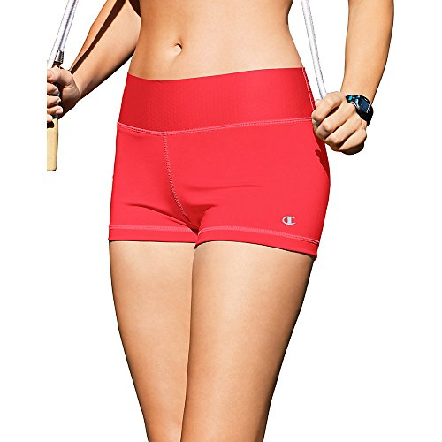 Champion Women's SmoothTec Short, Neon Flare, X-Small