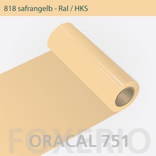 Your Design Oracal 751 – 818 safrangelb – 63 cm Rollo 20 metros: Amazon.es: Hogar