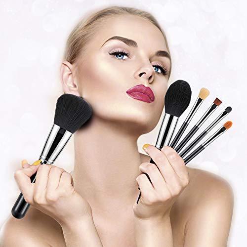 BESTOPE 16Pcs Makeup Brushes Set, 4Pcs Beauty Blender Sponge Set and 1 Brush Cleaner, Premium Synthetic Foundation Brushes Blending Face Powder Eye Shadows Make Up Brushes Kit 5