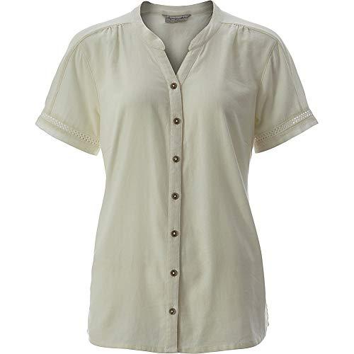 Royal Robbins Womens Cool Mesh Eco Short Sleeve (XXL - Creme)
