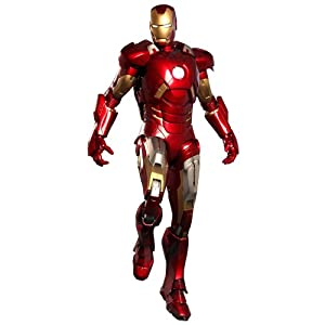 Amazon.com: Avengers Hot Toys Movie 1/6 Scale Collectible Figure Iron