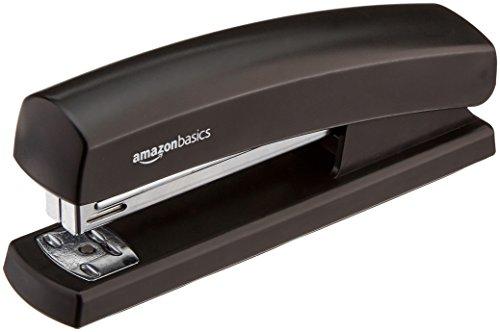 AmazonBasics Stapler with 1000 Staples - Black