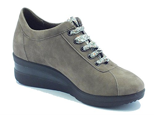 Piel Beige R0880 Zapatillas Mujer Castoro Melluso Para De f1qFpFwP