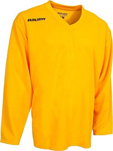 db69fc5f0 Amazon.com : Bauer 200 Series Practice Jersey - Senior : Sports ...