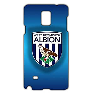Famous Design FC England West Bromwich Albion FC Phone Case Cover For Samsung Galaxy Note 4 3D Plastic Phone Case