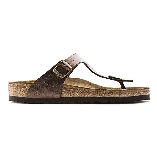 (Birkenstock Women's GIzeh Thong Sandal, Toffee Birko-Flor, 40 M EU/9-9.5 B(M) US)