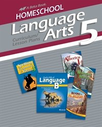 Homeschool Language Arts 5 Curriculum Lesson Plans (5th Plan Grade Lesson)