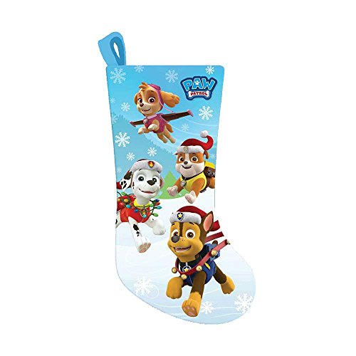 Kurt Adler Paw Patrol Printed Christmas Satin Stocking