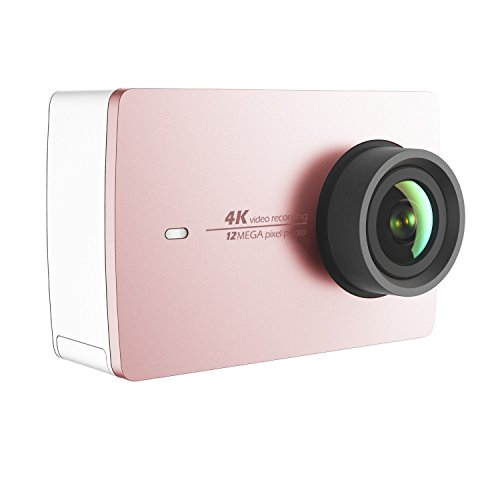 YI 4K Action Camera (US Edition) Rose Gold Action Cameras YI Technology