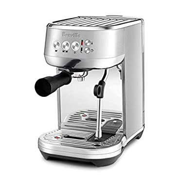 Breville BES500BSS1BUS1 The Bambino Plus Espresso Machine, One Size, Brushed Stainless Steel