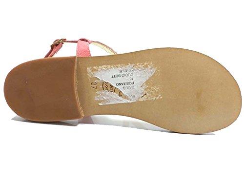 Zapatos Mujer EDDY DANIELE 37 Sandalias Rosa Gamuza AW317/AW318