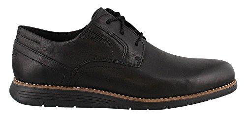 - Rockport Mens Total Motion Sport Dress Plain Toe Black Leather Oxford - 9.5 W