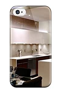 Ideal Iphone Case Cover For Iphone 4/4s Modern Eat-in Kitchen With Suspended Ceiling Protective Stylish Case