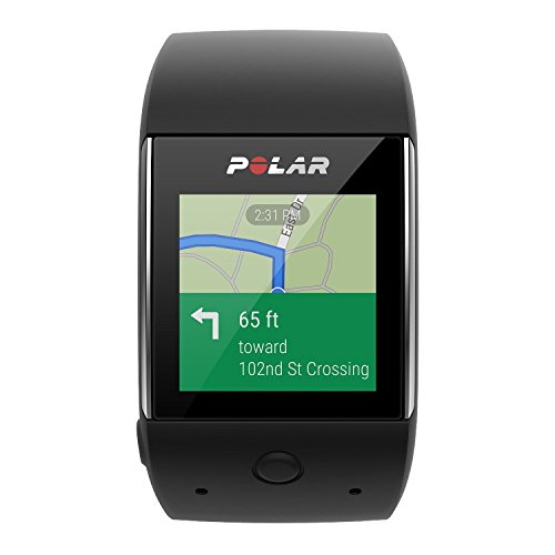Polar M600 (Black) GPS Watch BUNDLE with Extra Band (White) & PlayBetter Wall/Car USB Charging Adapters   Sports GPS Smartwatch with Wrist-Based Heart Rate by PlayBetter (Image #3)