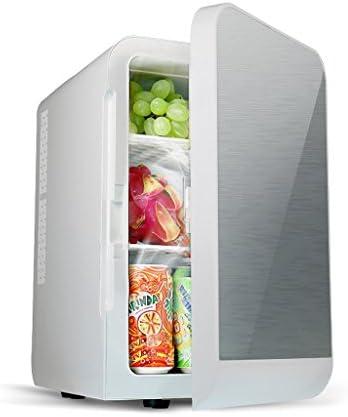 Amazon.es: Home Monopoly Refrigerador rosado del coche 20L, mini coche del refrigerador Uso doble caliente y frío Tipo dual del gabinete 220V AC / 12V DC (Color : La Plata)