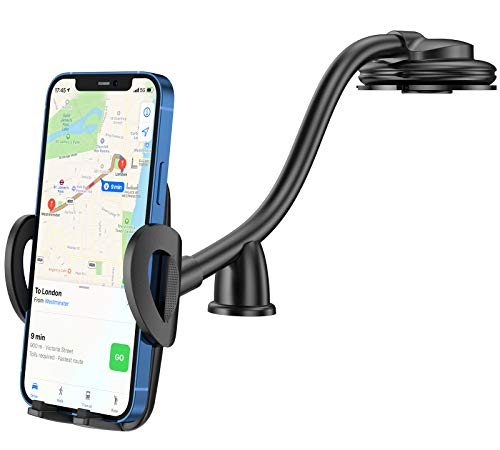 CTYBB Car Phone Holder Mount, Long Arm Dashboard Windshield Phone Holder for Car, with Strong Suction Cup and Anti-Shake…