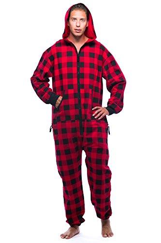 - #followme 6436-RED-S Jumpsuit/Adult Onesie/Pajamas