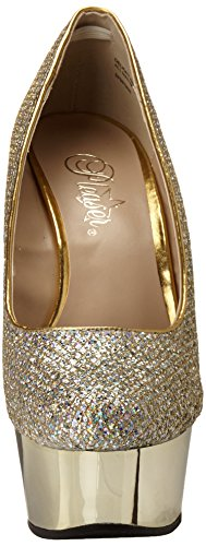 Mujer Tacones Multi Delight Pleaser Gold Gltr Chrome gold 685g w7APnqnR
