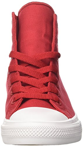 Converse Chuck Taylor All Star Glitter Hoge Top Sneakers Rood / Wit